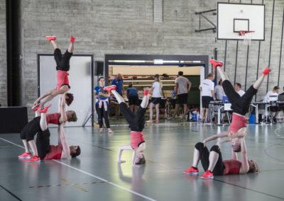 Kantonale Meisterschaften Getu und Team-Aerobic