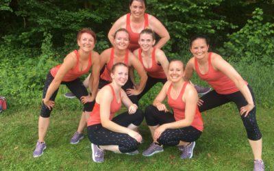 Bronze Medaille für die Team-Aerobic-Frauen an den Kantonalen Meisterschaften
