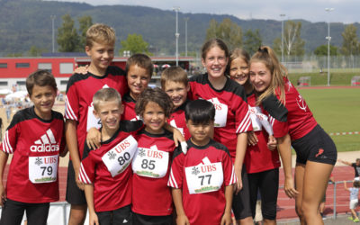 Jugend am Final des UBS-Kids-Cup und am Aargauer Final Swiss Athletics Sprint 2018