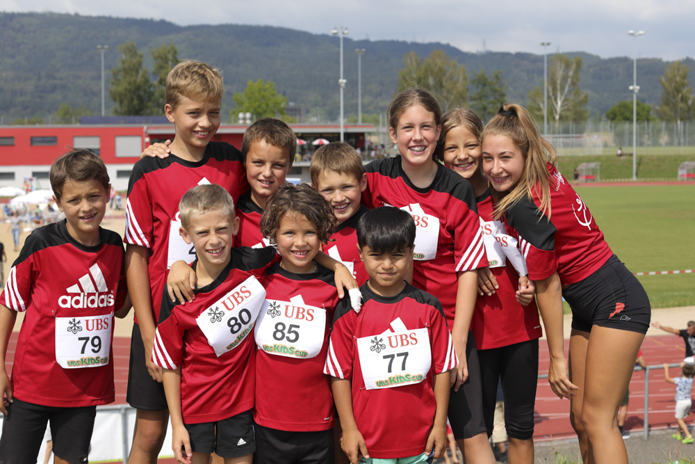 Jugend am Final des UBS-Kids-Cup und am Aargauer Final Swiss Athletics Sprint 2018