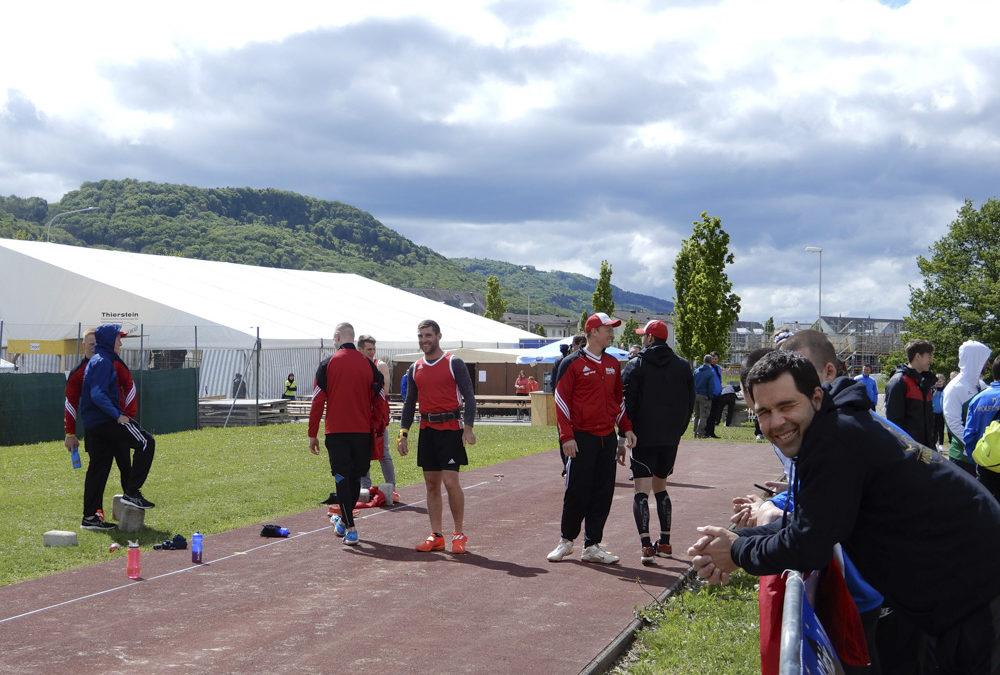 Unsere Startzeiten an der Schweizermeisterschaft Steinstossen