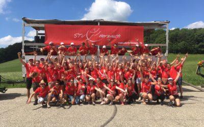 Zufriedener Verein nach dem Eidgenössischen Turnfest in Aarau